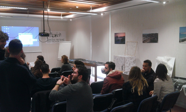 """Students of the Architecture, Land and Environmental Sciences Programme of Neapolis University presented their projects on """"The Morphology of Theatrical Space"""" and """"Open Urban Spaces"""""""