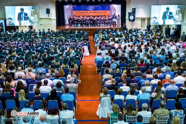 Neapolis University in Cyprus Graduation Ceremony