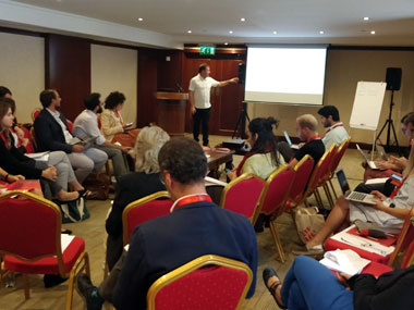 Meeting of researchers and representatives from 20 European cities