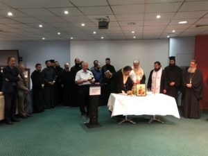 On Wednesday the 1st of November, the sanctification of Neapolis University in Cyprus was held