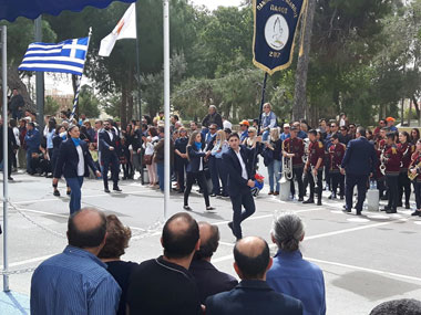 "Neapolis University in Cyprus participated in the ""25th of March, Greek Independence Day"" parade"