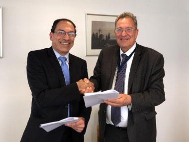 Memorandum of Cooperation between the Cyprus Department of Lands and Surveys and the Real Estate Department of Neapolis University in CYprus