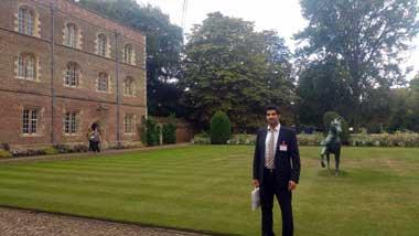 Συμμετοχή Δρ. Γεώργιου Δημητριάδη στο 34th International Symposium on Economic Crime του Πανεπιστημίου του Cambridge
