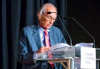 "The University is Founding a Chair named ""Michael Leptos - Kyrenia"""
