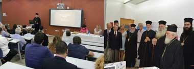 The visit of Metropolitan Elpidoforos (Ecumenical Patriarchate) and the event of the Byzantine Gardens of Theological School of Halki at Neapolis University in Cyprus[;gr]Επίσκεψη του Μητροπολίτη κ.κ. Ελπιδοφόρου στο Νεάπολις & Εκδήλωση για τους Βυζαντινούς κήπους της Ιεράς Θεολογικής Σχολής της Χάλκης στο Νεάπολις, Πανεπιστήμιο στη Κύπρο