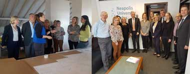 The University hosted a Board Meeting of the University Network of European Capitals of Culture (UNeECC)