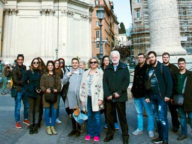 Εκπαιδευτικό Ταξίδι και Εργαστήρι στη Ρώμη του Προγράμματος Αρχιτεκτονικής και του Μεταπτυχιακού Αρχιτεκτονικής Τοπίου του Πανεπιστημίου Νεάπολις Πάφου