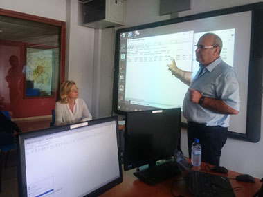 Important forecasts for Cyprus from the well-known prof. Mr. Andreas Matzarakis the University of Freiburg in Germany at a seminar in the Master of Landscape Architecture, Neapolis University in Cyprus
