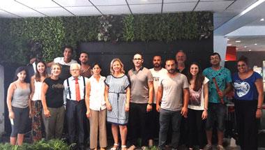 Κατασκευή Κάθετου Πράσινου Τοίχου (Vertical Green Garden) το Σάββατο 8 Ιουλίου στο Νεάπολις, Πανεπιστήμιο στη Κύπρο
