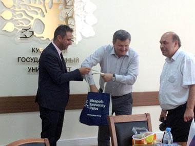 Neapolis University in Cyprus participates at an Educational Workshop in Krasnodar, Russia