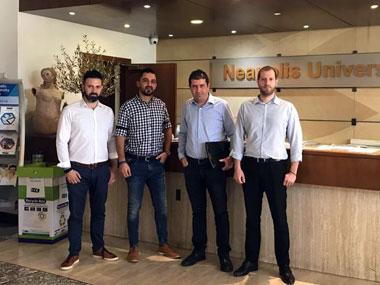"The Department of Informatics of Neapolis University in Cyprus is Sponsoring Private Institutes Poreia and Y. Laouris Informatique"""