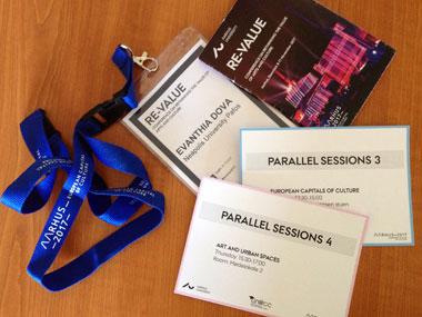 Παρουσίαση Εργασίας στο 11ο Συνέδριο του Δικτύου των Πανεπιστημίων των Πολιτιστικών Πρωτευουσών της Ευρώπης (UNeECC)