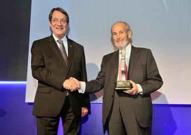 KEBE awarded Michael Leptos as Entrepreneur of the year