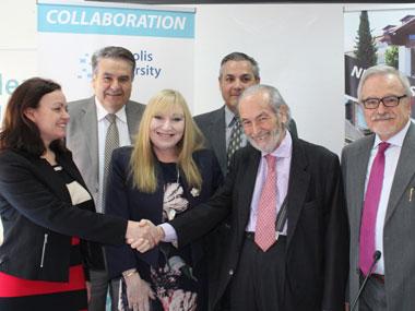 Ανακοίνωση συνεργασίας μεταξύ του Πανεπιστημίου Νεάπολις Πάφου και το Πανεπιστήμιο Hull Ηνωμένου Βασιλείου