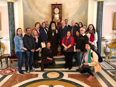 Pilgrimage-educational trip to the Holy Land of the Postgraduate Program of Theological Studies