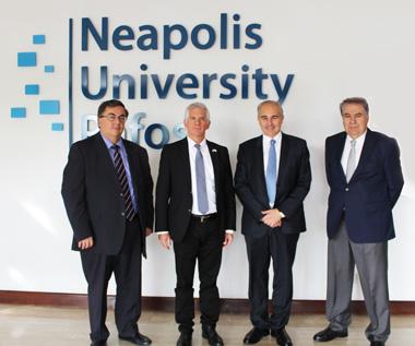 Ambassador of the State of Israel to Neapolis University in Cyprus