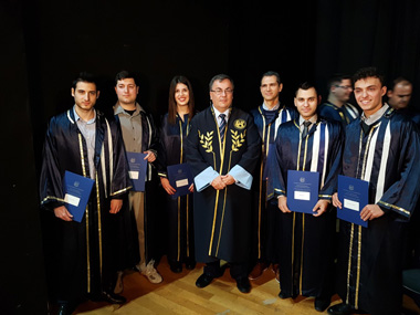 Graduation Ceremony of the joined postgraduate program of Neapolis University in Cyprus and the University of Peloponnese