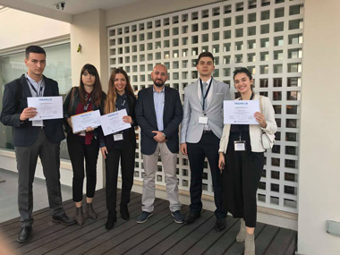Law students of Neapolis University in Cyprus achievement in MUN contest