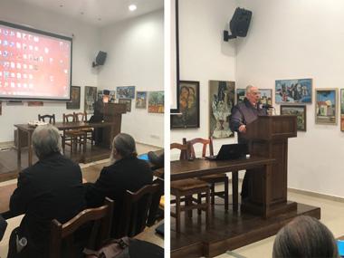 Neapolis University in Cyprus collaboration with Chrysoroyatissa Monastery