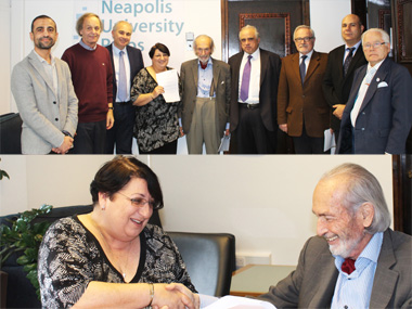 Collaboration Agreement between Middlesex University London and Neapolis University in Cyprus for the award of validated degrees for Neapolis University programmes