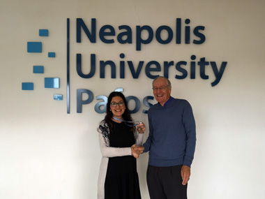 The Liaison Office of Neapolis University in Cyprus promotes charity activities