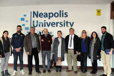 The Architecture students at Neapolis University Pafos are connected with the Market