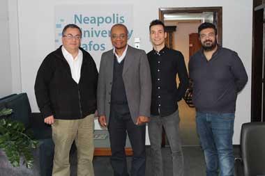 Neapolis University in Cyprus Digital Video Program signs creative internship Memorandum of Understanding with Production Industry