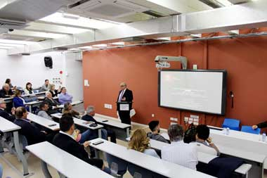 Public talk at Neapolis University in Cyprus on global climate emergency and its implications for Cyprus and the region