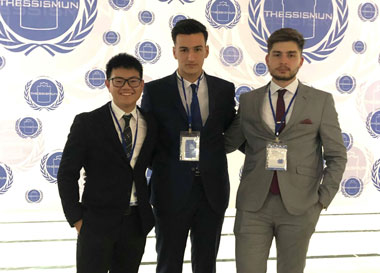 Successful participation of the Faculty of Law of the Neapolis University in Cyprus at the ThessisMUN contest