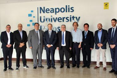French Ambassador Visits Neapolis University in Cyprus