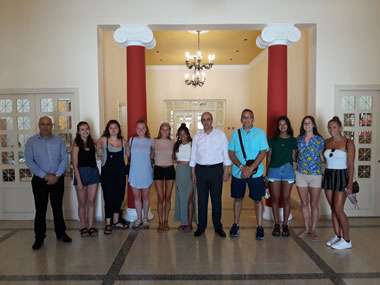 Pittsburgh University Students staying at Neapolis University in Cyprus