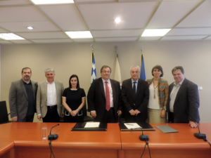 (EN) Signing of the Protocol for Cooperation of Neapolis University in Cyprus with the Democritus University of Thrace