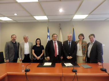 Signing of the Protocol for Cooperation of Neapolis University in Cyprus with the Democritus University of Thrace