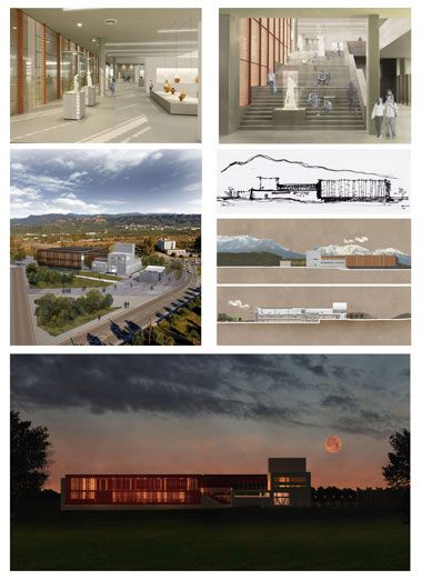 Architectural Competition Award for a visiting scholar at Neapolis University in Cyprus