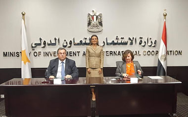 Neapolis University in Cyprus signs in the Egyprian capital Cairo, Memorandum of understanding in the presence of the Egyprian Minister of Investment and International Cooperation