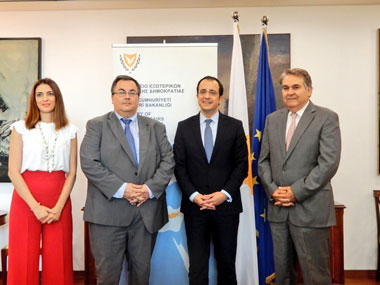 Signing of a Memorandum of Understanding between Foreign Ministry of the Republic of Cyprus and Neapolis University in Cyprus