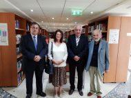 Δωρεά συλλογής βιβλίων από τον κ. Άρη Πετάση στην Βιβλιοθήκη του Νεάπολις, Πανεπιστημίου στην Κύπρο