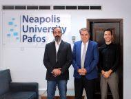 Υπογραφή συμφώνου συνεργασίας μεταξύ του προγράμματος MA in Digital Video Production του Πανεπιστημίου στην Κύπρο Νεάπολις και SAE Institute School of Creative Media [LTUC]