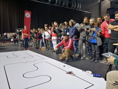 Computer Science Department of Neapolis University in Cyprus attends the Robotex International 2019 contest