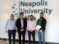 Υπογραφή Συμφωνίας Συνεργασίας Νεάπολις, Πανεπιστημίου στην Κύπρο με Strategico Consulting Services