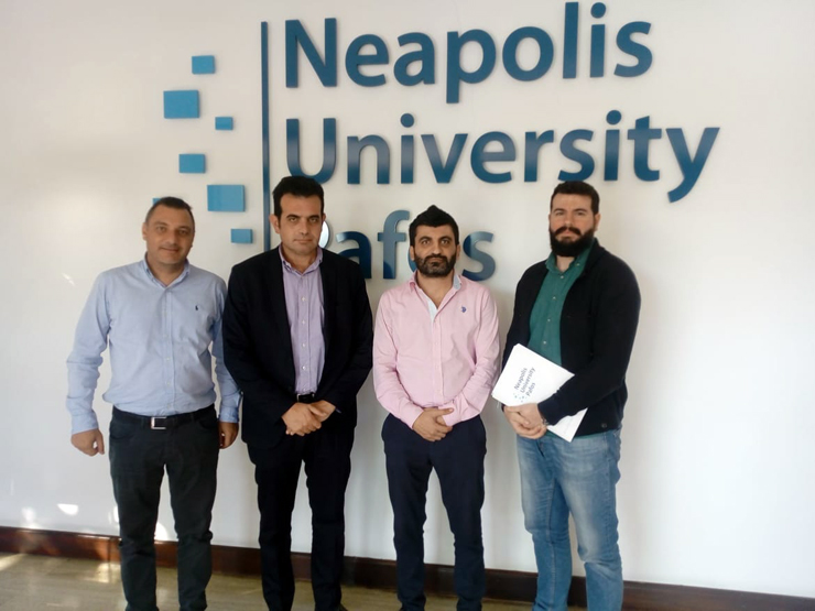 Memorandum of Understanding between Neapolis University in Cyprus and Strategico Consulting Services