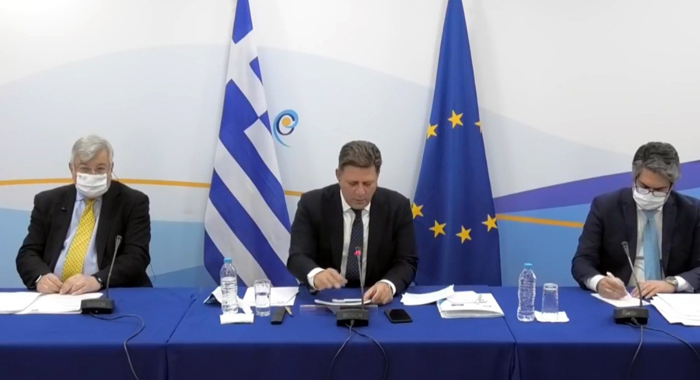 Participation of Prof. Stelios Perrakis, Dean of Neapolis University in Cyprus Law School, in the Handover of the Chairmanship of the Committee of Ministers of the Council of Europe